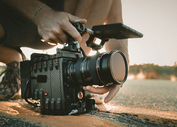 Film Camera - Video Production Cape Town